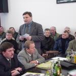 Wrzenie referendalne w Korzennej; fot.:z arch. Jerzego Leśniaka