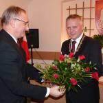 Piotr Piechnik (z prawej) po ślubowaniu w 2010 fot.:z arch. Jerzego Leśniaka