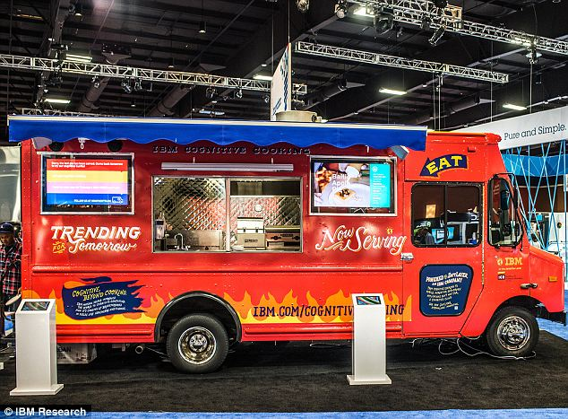 Supercomputer, super chef: IBM has put its famous Jeopardy champ supercomputer Watson to use whipping up cutting edge recipes for its food truck tour