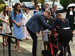 Image ©Licensed to i-Images Picture Agency. 16/09/2016. London, United Kingdom. The Duke and Duchess of Cambridge visiting Stewards Academy. Prince William, The Duke of Cambridge and Catherine, The Duchess of Cambridge visit Stewards Academy with Heads Together, in Harlow. Picture by Andrew Parsons / i-Images