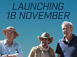 BEST QUALITY AVAILABLE Undated handout photo issued by Amazon Prime of a poster for The Grand Tour featuring Jeremy Clarkson, Richard Hammond and James May which will launch exclusively for Amazon Prime customers on November 18. PRESS ASSOCIATION Photo. Issue date: Friday September 16, 2016. See PA story SHOWBIZ Tour. Photo credit should read: Amazon Prime/PA Wire NOTE TO EDITORS: This handout photo may only be used in for editorial reporting purposes for the contemporaneous illustration of events, things or the people in the image or facts mentioned in the caption. Reuse of the picture may require further permission from the copyright holder.