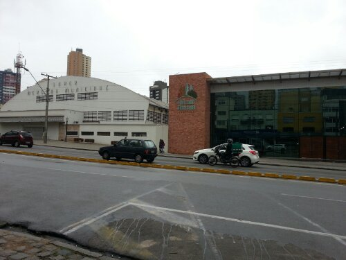 Mercado Municipal, Curitiba, from street level