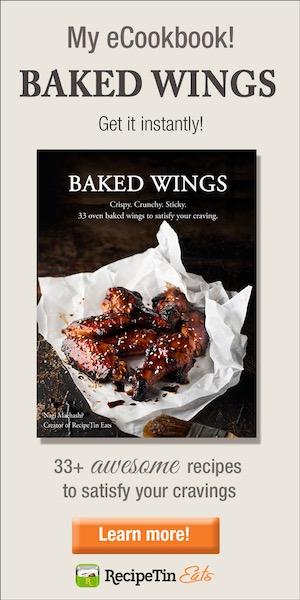 RecipeTin Eats Wings Cookbook