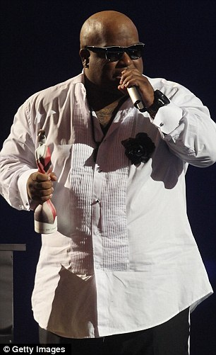 Straight from the Grammys: Justin Bieber, who won International Breakthrough Act, and Cee Lo Green, who won International Male Solo Artist, had both jetted in from Los Angeles for the event