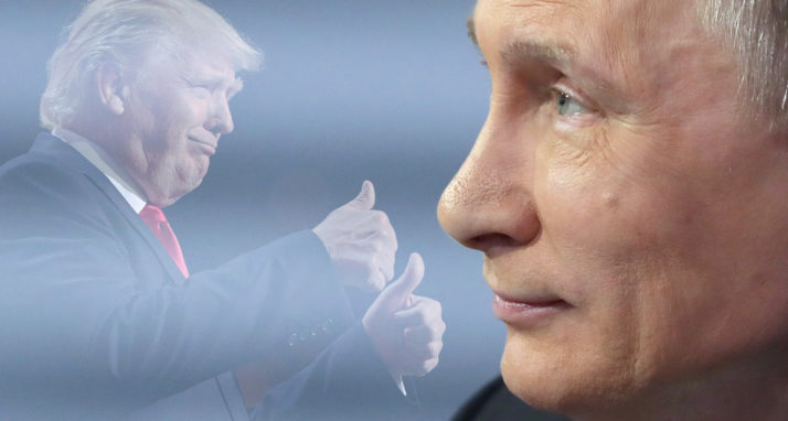 """There is """"something"""" going on, with Putin and Trump"""