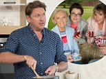 EDITORIAL USE ONLY. NO MERCHANDISING Mandatory Credit: Photo by Ken McKay/ITV/REX/Shutterstock (5808780ec) James Martin 'This Morning' TV show, London, UK - 29 Jul 2016 HE¯S A CHEESE CHAMPION¯, James is in the kitchen with a classic recipe perfect for tonight¯s tea, using an award winning cheddar he picked up while judging a selection of 5, 000 cheeses this week at the International Cheese Awards. He's in the kitchen cooking Poached Haddock with Welsh Rarebit.