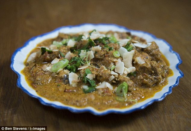 Lamb rogan josh with toasted coconut - ready meal or homemade?