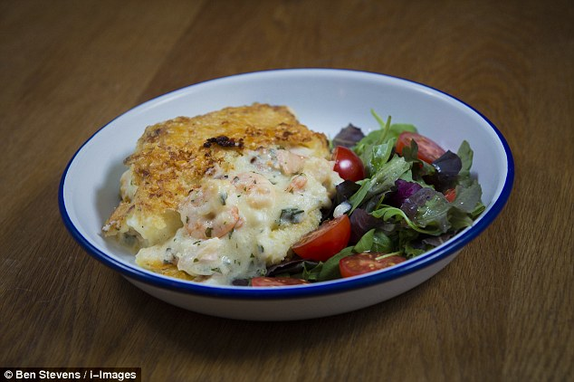Fish pie with salmon, smoked haddock and prawns - homemade or ready meal?