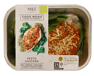 M&S Pesto Chicken