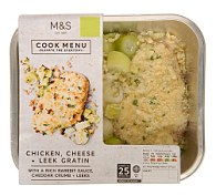 M&S Chicken, Cheese & Leek Gratin
