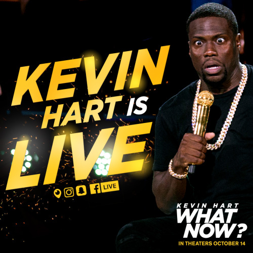 Are you ready for this Q&A live stream? Join Kevin Hart NOW as he answers your questions on Facebook, Instagram, Periscope, and Snapchat! http://bit.ly/2bOGK5v