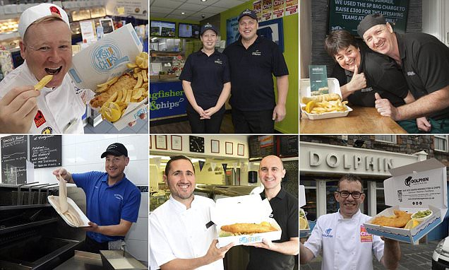 Britain's best fish and chip restaurants revealed