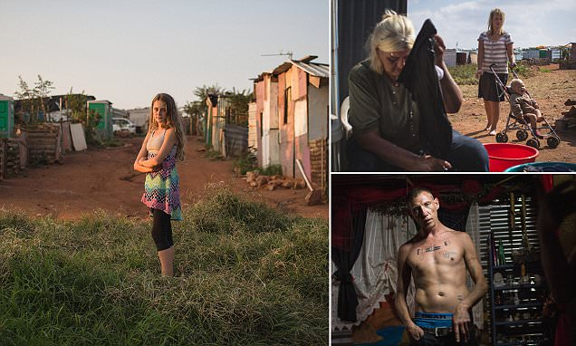 The white ghettos that blight South Africa