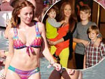 20 JULY 2015 - IBIZA - SPAIN *** EXCLUSIVE ALL ROUND PICTURES *** ** NOT AVAILABLE FOR ITALY *** ATOMIC KITTEN SINGER NATASHA HAMILTON PICTURED SHOWING OFF HER TONED BIKINI BODY WHILE ENJOYING A POOL PARTY WITH FRIENDS ON HOLIDAY IN IBIZA! BYLINE MUST READ : XPOSUREPHOTOS.COM ***UK CLIENTS - PICTURES CONTAINING CHILDREN PLEASE PIXELATE FACE PRIOR TO PUBLICATION *** **UK CLIENTS MUST CALL PRIOR TO TV OR ONLINE USAGE PLEASE TELEPHONE 44 208 370 0291**