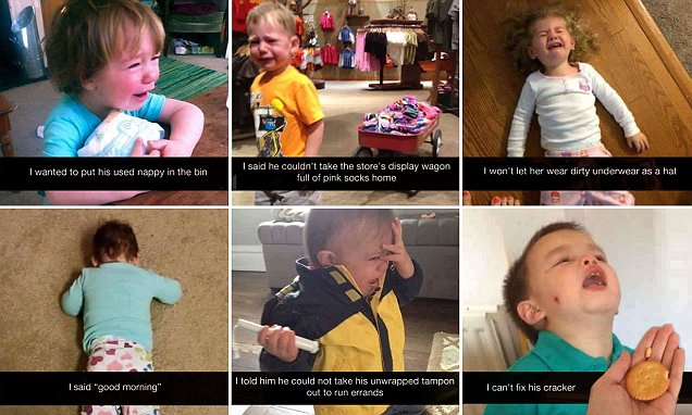 Fed-up parents share the RIDICULOUS reasons for their toddlers' tantrums