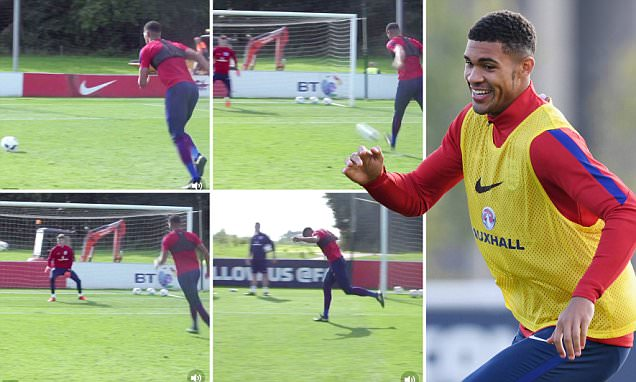 Chelsea starlet Ruben Loftus-Cheek attempts audacious trick-shot penalty