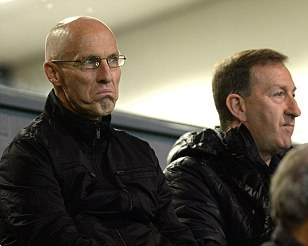 New Swansea boss Bob Bradley takes in Under 23s game ahead of first training session