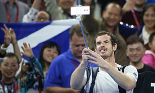 Andy Murray cruises into China Open second round as rejuvenated Scot targets the No 1