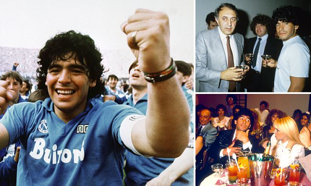 Sex, drugs and rock 'n' roll football... Diego Maradona and the thrills, skills and