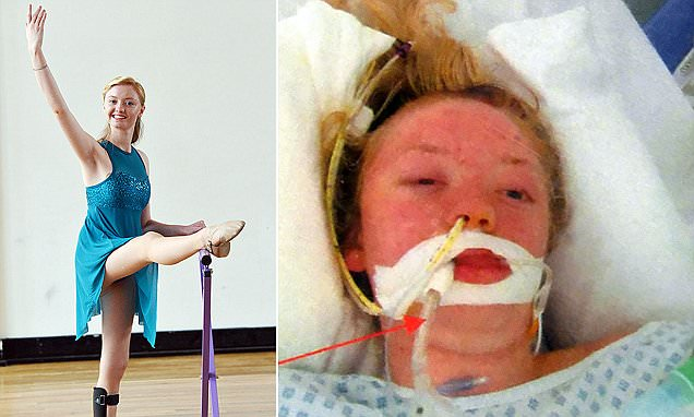 Megan Sargeant who was left unable to walk or talk following car crash becomes a ballerina