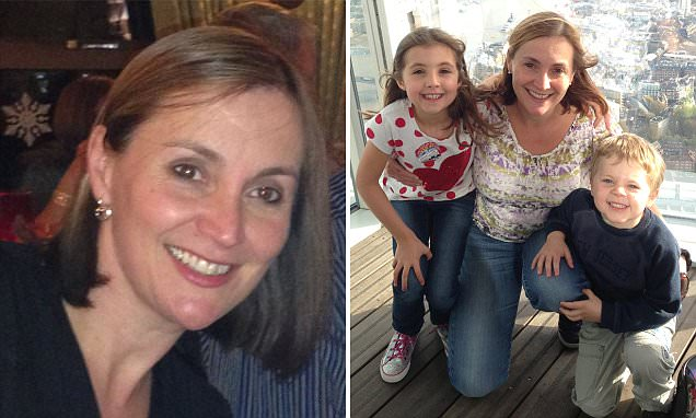 Mother-of-two is killed by sepsis after scratching her hand while gardening: