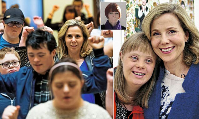 Sally Phillips is accused of making mums-to-be feel guilty over Down's syndrome abortion