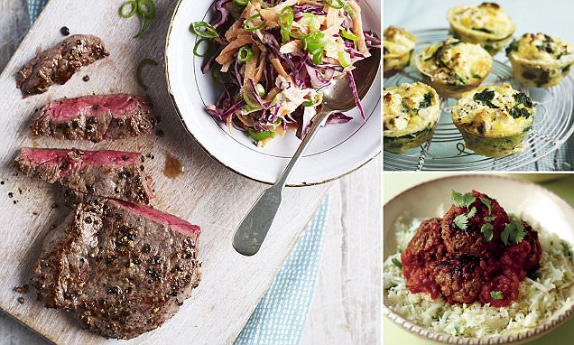 Fantastic feasts to end the week: Eat to beat diabetes with these amazingly indulgent