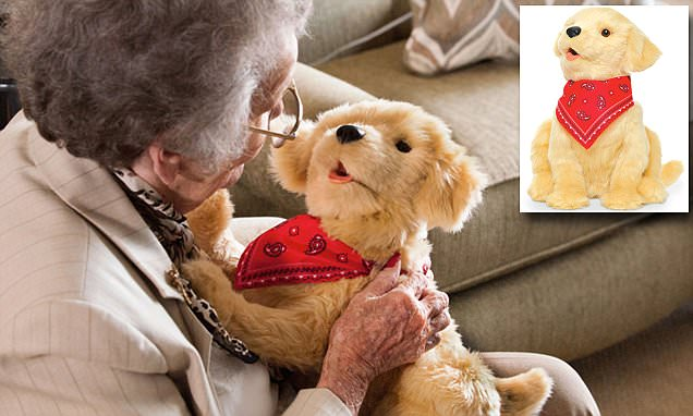 Hasbro unveils robot puppy to keep seniors company: Toy responds to touch and voice cues -