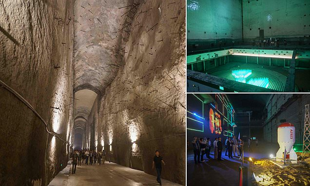 China's 816 Nuclear Military Plant, the world's largest man made cave, is now open to