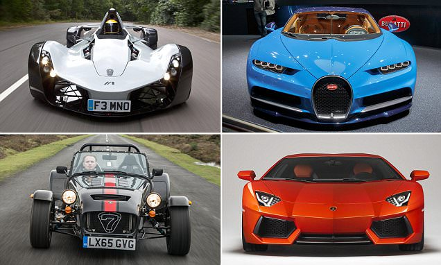 The 10 fastest accelerating cars you can buy now