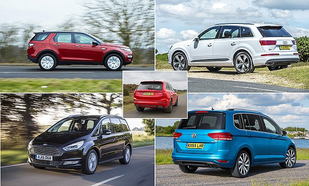 Five of the best seven-seater cars