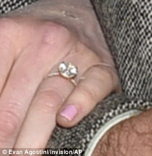Bling: A look at her engagement ring
