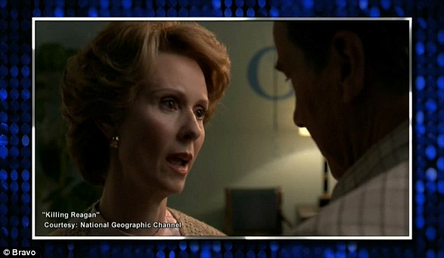 TV movie: Cynthia portrays Nancy Reagan in the upcoming National Geographic Channel movie Killing Reagan airing on October 16