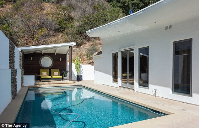 Time for a dip: Hot California summers don't seem so bad with a nice pool to cool off in