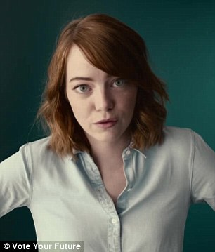 Redheads unite: Emma Stone pushed for equality, while Julia Roberts wants clean oceans and air