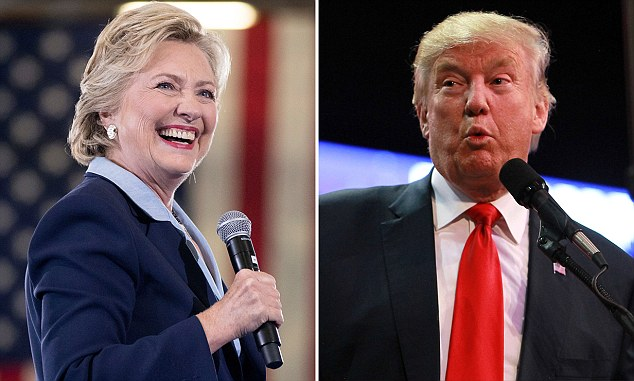 Clues: The videos are non partisan and do not mention either candidate - Donald Trump or Hilary Clinton - by name or party; however it is not hard to decipher which candidates each celeb is backing... and they are heavily in favour of one in particular