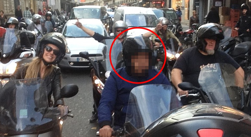 Kim Kardashian was tailed by two men in the days before her terrifying multimillion pound robbery in Paris, it has been claimed. A man on a motorcycle aroused suspicions among photographers