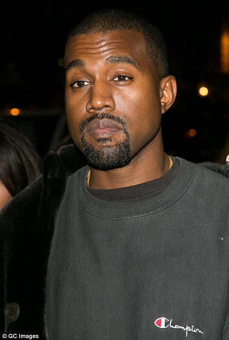 Another source also questioned whether the Kardashians had had the appropriate level of security in relation to their high celebrity profile. Pictured: Kanye West leaving Ferdi restaurant on Thursday night