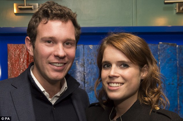 Princess Eugenie and her partner Jack Brooksbank seemed to be in the mood to party after attending an event together in London last night