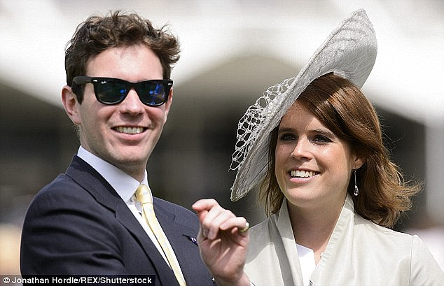 Their appearance at the party comes just weeks after Eugenie, 26, took nightclub manager Mr Brooksbank, 29, to Balmoral to meet her grandmother