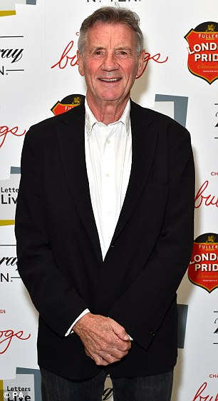 In attendance: Guests on the night included Monty Python legend Michael Palin...