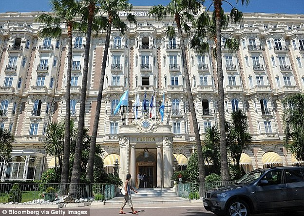 In 1984, three crooks with machine guns stormed into a jewellery shop at the Carlton Hotel in Cannes and cleared its shelves of £39million worth of gems