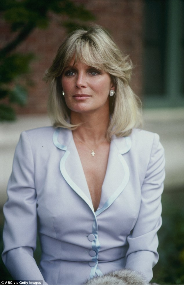 Linda Evans shot to fame as Krystle whose on-screen cat fights with her bitter rival Alexis, played by Joan Collins, became notorious