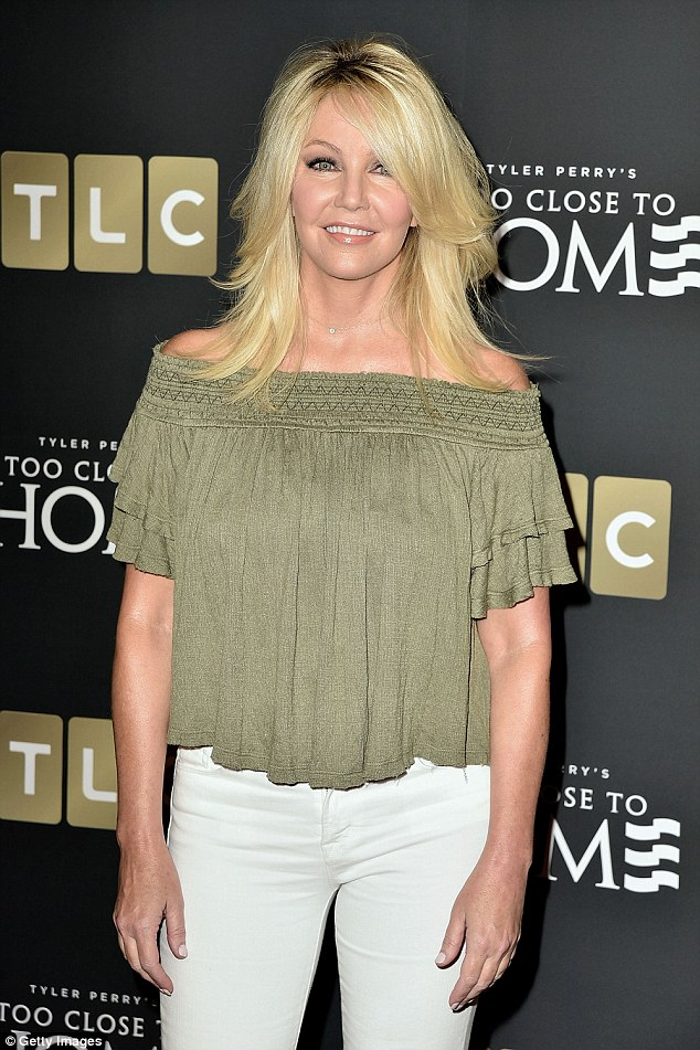 The actress is now starring in the TLC's political drama Too Close To Home after roles in Spin City and Melrose Place