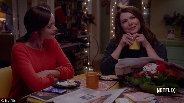 Netflix is paying Alexis Bledel (left) and Lauren Graham (right) $750,000 per episode of the Gilmore Girls reboot, a Variety survey has revealed