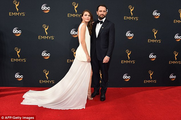 Keri Russell appears to be the breadwinner of her house. She makes $175,000 per episode of The Americans, while her co-star and boyfriend Matthew Rhys, both pictured, isn't  ranked