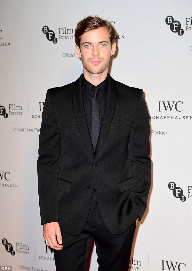Suited and booted: Olivier Award winner Luke Treadaway put in an appearance