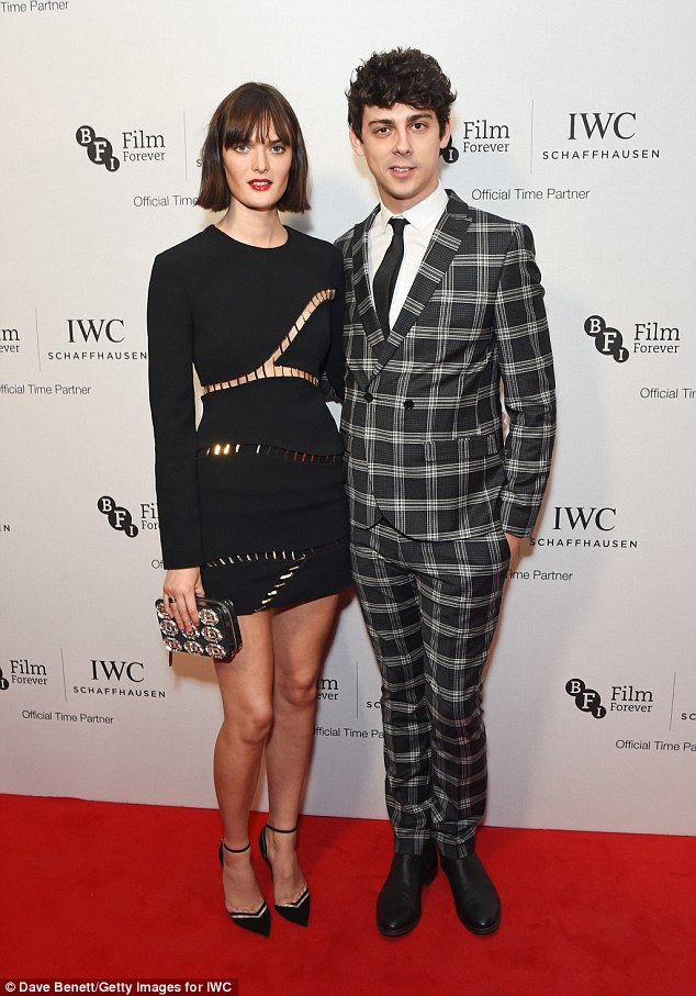 Strike a pose: Sam Rollinson and Matt Richardson showed off their style credentials