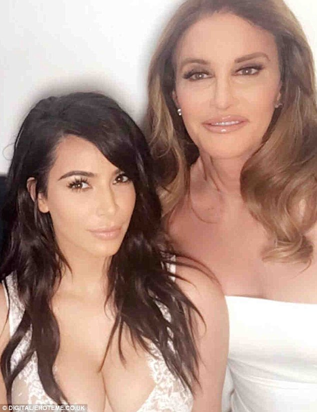 Father figure: Kim was 11 when mom Kris married Caitlyn - then Bruce - in 1991. The I Am Cait star was her only father figure after biological dad Robert Kardashian died in 2003