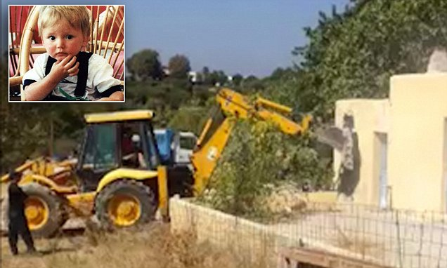 Ben Needham police search team demolish Greek farmhouse